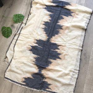Large gauzy scarf or wrap by Echo